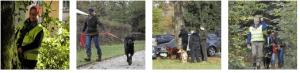 Hundeseminare im Urlaub mit Mantrailing